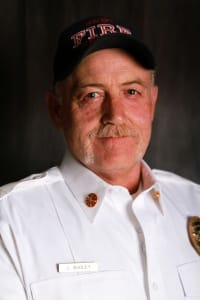 Fire Chief Joe Bailey