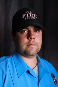 Sr. Firefighter Josh Claridge
