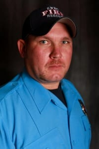 Sr. Firefighter Dustin Rohr
